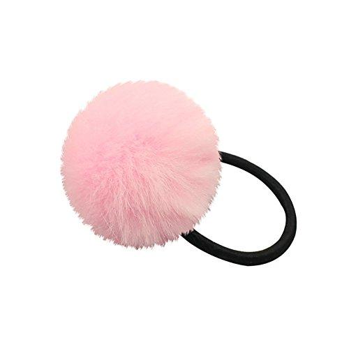 FeiyanfyQ Elastisches Haarband mit Bommel, für Damen