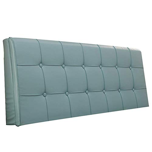 Cuscini jxq senza testiera pu schienale letto tessuto tappezzeria in pelle artificiale facile da rimovibile lavare lungo posteriore (color : cadet, dimensione : 150 * 5 * 58cm)