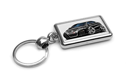 wickedartz-cartoon-car-volkswagen-vw-passat-r36-black-premium-metal-key-ring