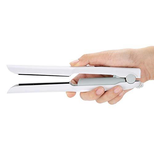 Acogedor USB de Carga Inalámbrica Mini Alisador Portátil Liu Hai Placa de Alisado de Cerámica Botón Interno Alisado Horquilla