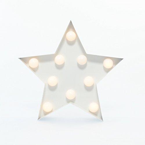 star-karneval-licht-weiss