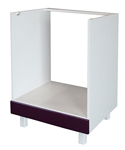 Berlenus CF6B - Mueble bajo de Cocina para el Horno (60 cm),...