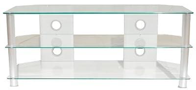 Fernseh Schrank Hifi Glas Regal Tisch Sicherheitsglas Ablage TV Regal HAGEN BHP B153083 von Bhp
