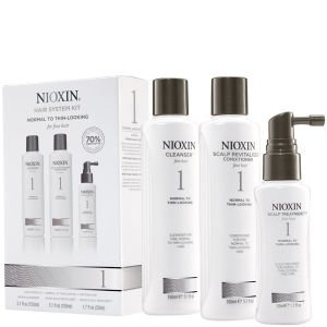 Nioxin Hair System Kits 3 part System