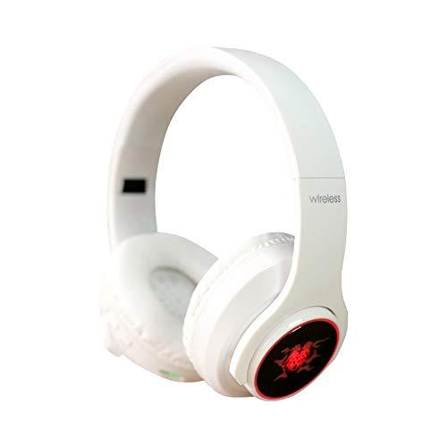 ShaDiao Bluetooth Wireless Kopfhörer Noise Cancelling - Drahtlose Kopfhörer Bluetooth 4.1 Siebenfarbige LED über Ohr mit Mikrofon-Headset