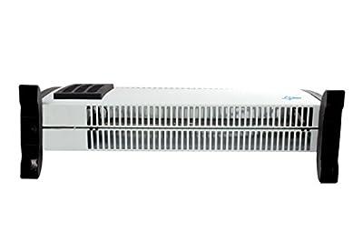 SUNTEC Heizkonvektor Heat Flow 2020 [Für Räume bis 60 m³ (~25 m²), 3 Heizstufen, Regulierbares Thermostat, Turboheizgebläse, Freistehend/Wandmontage, 2000 Watt] von Suntec Wellness auf Heizstrahler Onlineshop