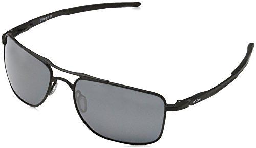 Oakley Herren Gauge 8 Oo4124 412402 Polarizada 57 Mm Sonnenbrille, Schwarz (Matte Black/Prizmblackpolarized), 57