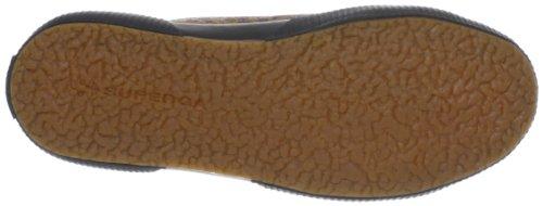 Superga 2750-leahorseu Sneaker Unisex - Adulto J18 Brown-dk Brown