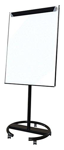 spaceright Europa 68x 90cm Badmintonschläger Ultramate Mobile Flipchart Staffelei–Rot/Schwarz