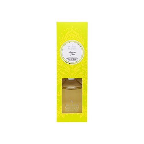 Shearer Diffusers SD0543 Raumduft-Diffuser Glasflasche mit Rattanstäbchen 100 ml Persian Lime -