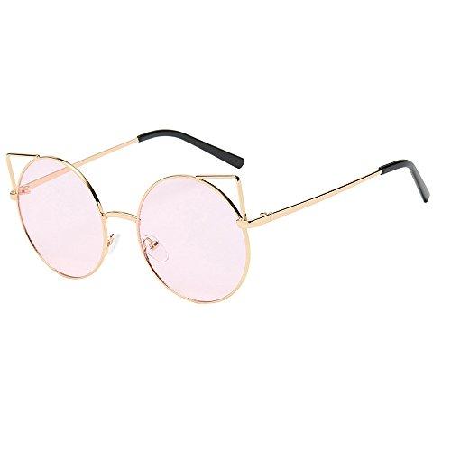 Ginli design alla moda unisex occhiali da sole rotondi polarizzati occhiali per occhiali da vista oversize per donne degli uomini
