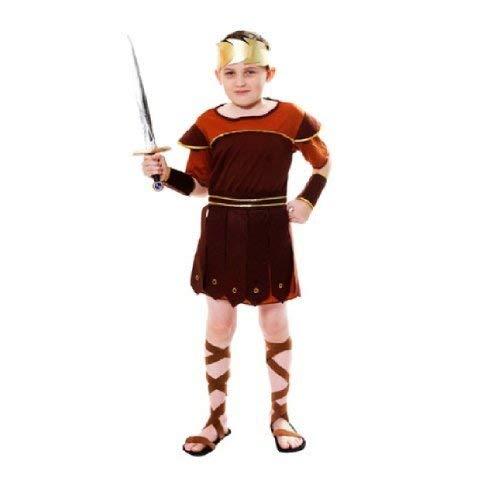 Soldat Kleinkind Kostüm - Henbrandt Kleinkinder Römischer Soldat Gladiator Kostüm Hercules OUTFIT-U24071