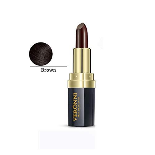 Power Cream Wash (Allbestaye One-Time Hair Dye Lippenstift Temporary Hair Color Pen Cream Stick Hair Styling Chalk Instant Dyeing Schwarz Braun)