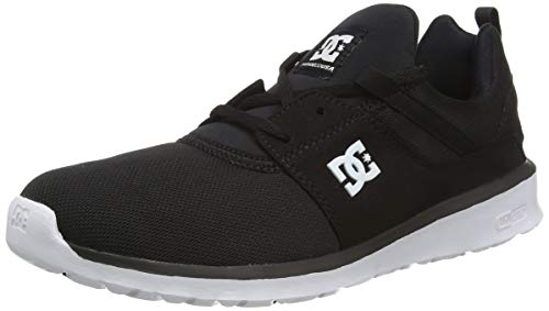 DC Heathrow, Herren Sneakers, Schwarz (Black/White - BKW), 44 EU (9.5 Herren UK)