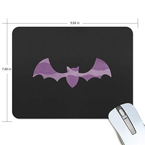 d lila Halloween Fledermaus Computertastatur, wasserabweisend, rutschfeste Unterseite, ideal für Gaming und Arbeiten ()
