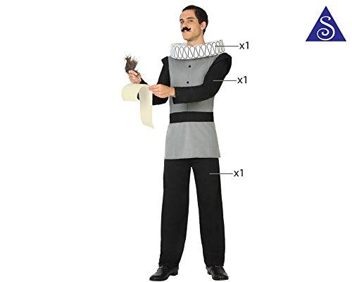 Imagen de disfraz escritor cervantes talla xl alternativa