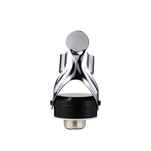 BESTONZON Stainless Steel Champagne Stopper Flasche Sealer für Champagner Cava Prosecco Sekt mit einer eingebauten Druckpumpe Größe - 4.9 * 6.5CM