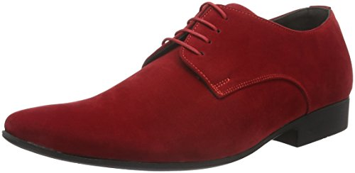 Tamboga 8102-V, Chaussures à Lacets Homme Rouge (Red 02)