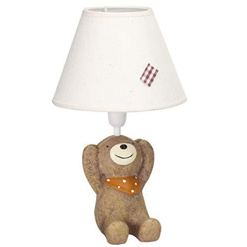 EFGS Cartoon Lámpara de Mesa durmiendo Cama habitación Noche lámpara para niños, niñas, Dormitorio...