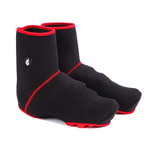 fggfgjg Winter Cycling Shoe Cover Waterproof Windproof Overshoes Boot Cover Black (Overshoe Boots)