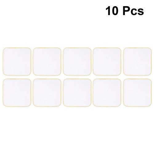 HEALLILY tücherbabyrülpsenlätzchenbabyfütternhandtuchhandtuchbabytaschentuchfürbabys10stück(gelb)