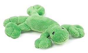 Schaffer 3548 Lizzy Gecko - Imán de Peluche (11 cm), Color Verde