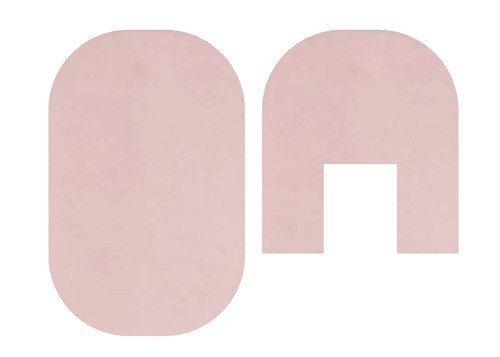 Melody Jane Puppenhaus Pink Badematte Set Miniatur-Badezimmer Zubehör 1:12