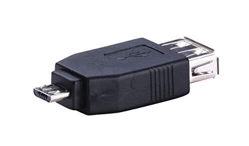 KTX7® Micro-USB Adapter - Micro-USB Stecker/USB Buchse (1 Stück)