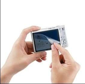 """Film protection d'écran universel pour écran LCD 3.2"""" : PDA, mobile, compacts, MP3, MP4. Dimension 65 x 48 mm"""