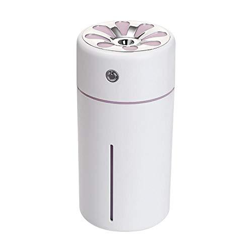 Umidificatore d'aria umidificazione rifornimento d'aria fredda idratante illuminazione a LED mini-in-one mini USB desktop purificatore 360ml per ufficio camera da letto auto