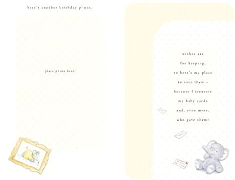 Baby's 1st birthday (keepsake book), (Elliot & Buttons) - Birthday Greetings Card
