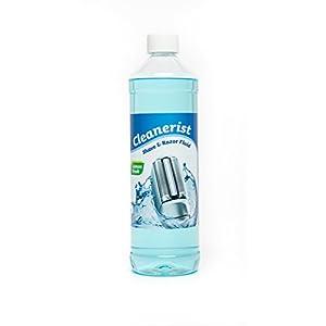 Cleanerist Scherkopfreiniger passend für Braun Rasierer CCR-Kartuschen, für Reinigungskartuschen, 1 Liter