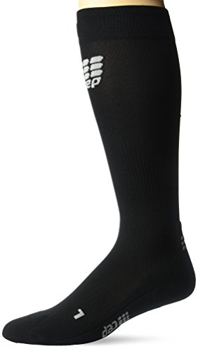 CEP Herren Strumpf Progressive+ Run Socks 2.0, Black/Black, III, WP55532 (Zehen Socken Running Mit)