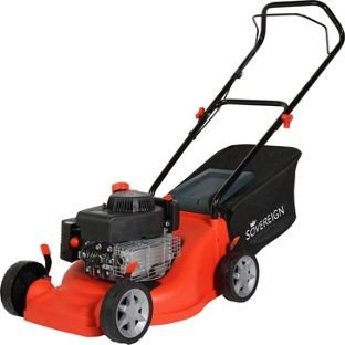Sovereign 40cm Wide Push Petrol Lawnmower – 149CC.
