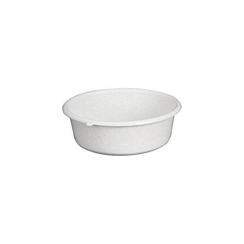 ALUMINIUM ET PLASTIQUE Cuvette ronde 1,5 L gris moucheté - C21