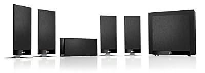 Kef T105 Sistema Home Theater 5.1, Nero al miglior prezzo - Polaris Audio Hi Fi