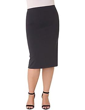 Parabita - Falda tubo elástica para Mujer