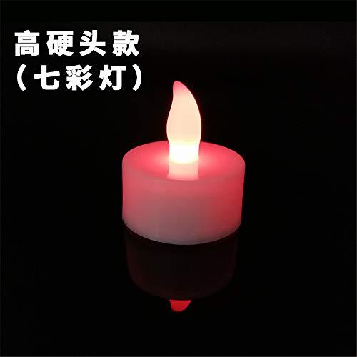 24 LED Kerzen, GTQC LED Flammenlose Tealights, Flackern Teelichter, elektrische Kerze Lichter Batterie Dekoration für Weihnachten, Weihnachtsbaum, Ostern, Hochzeit, Party 3.7 * 4cm