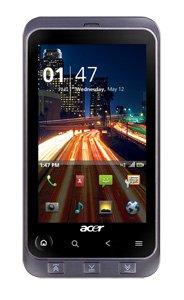 Acer Stream S110 Handy Smartphone 5 Megapixel Kamera Wi-fi HSDPA Android 2,1