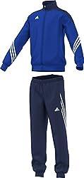 Adidas Boys Sereno 14 Tracksuit - Cobaltnew Navywhite, Size 152