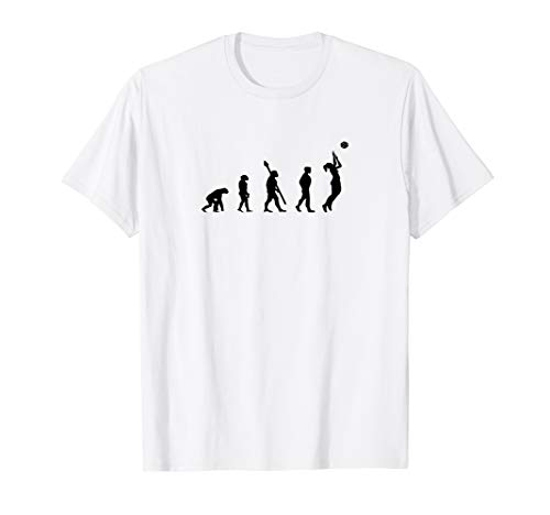 Volleyball Evolution T-Shirt Design Motiv Geschenk