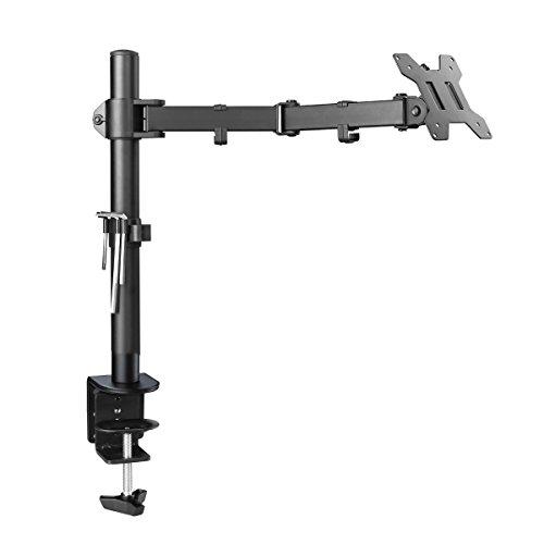 Suptek Fully Adjustable Single Arm LCD LEDMonitor Desk Mount Stand Bracket for 13