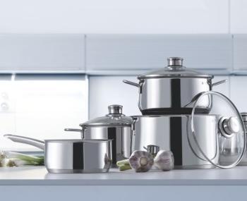 wmf diadem plus 0730636040 cookware set 3 pieces kitchen home. Black Bedroom Furniture Sets. Home Design Ideas