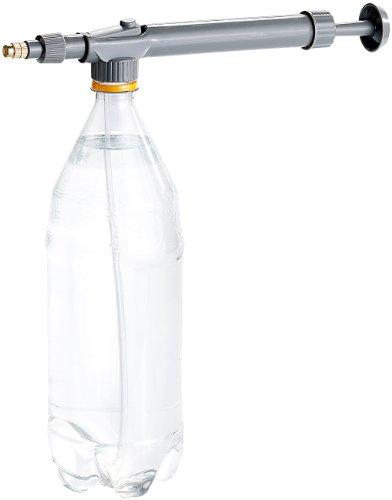 Royal Gardineer Pumpsprüher: Pumpe-Druck-Sprühflasche Sprühaufsatz für PET Flaschen, Matall-Düse (Wassersprüher)