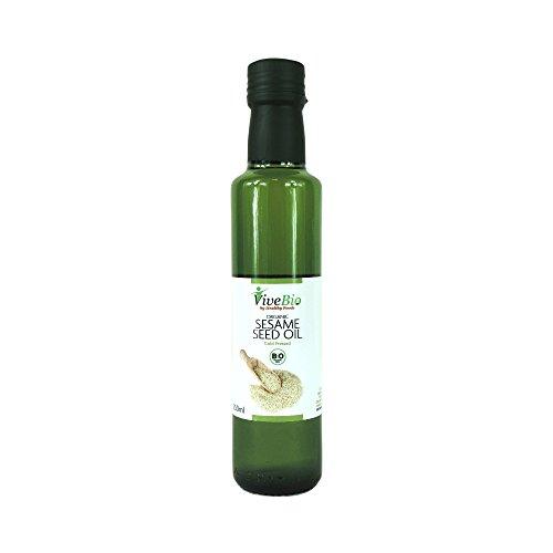ViveBio - Organic Sesame Seed Oil - 250ml