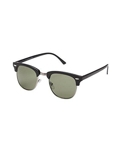 iB-iP - Lunettes de soleil - Uni - 50 DEN - Homme Noir Noir mO3hX