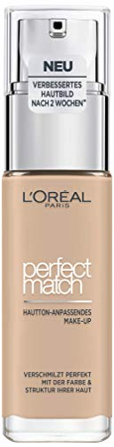 L'Oréal Paris Perfect Match Foundation, flüssiges Make-Up, deckend und feuchtigkeitsspendend für einen natürlichen Teint - 2R/2C rose vanilla (30 ml)