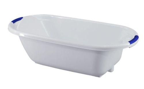 Vasca Da Bagno Per Neonati : Vital innovation vaschetta da bagno per bambini bianco blu