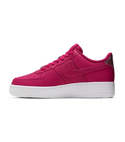 Nike Damen WMNS Air Force 1 '07 ESS Basketballschuhe, Rot Wild Cherry/Noble Red/White 601, 39 EU
