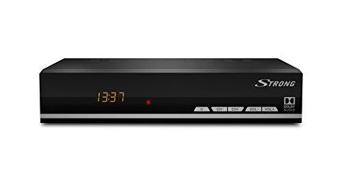 STRONG SRT 7007 ECO Digitaler HD Satelliten-Receiver mit SatCR, EPG, Ethernet, Internet-Portal, ECO, USB, schwarz